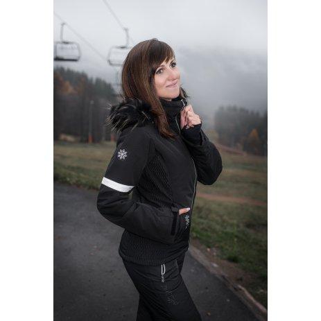 Dámská lyžařská bunda ALTISPORT HERDIA ČERNÁ