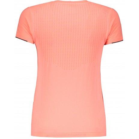 Dámské funkční triko PEAK ROUNT NECK T SHIRT F682028 FLUORESCENTNÍ ČERVENÁ