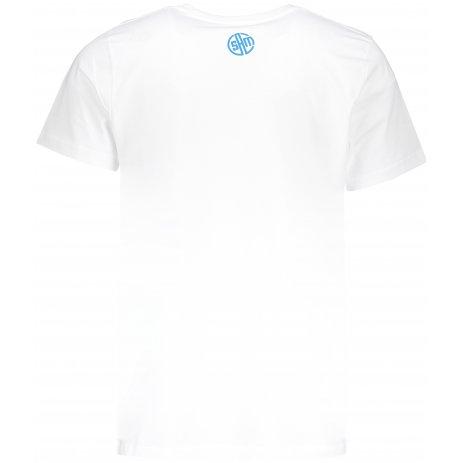 Pánské triko s krátkým rukávem SAM 73 MTSP431 BÍLÁ