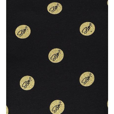 Dámské triko s krátkým rukávem SAM 73 LTSP530 ČERNÁ