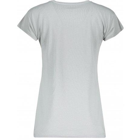 Dámské triko s krátkým rukávem SAM 73 LTSP534 SVĚTLE ŠEDÁ