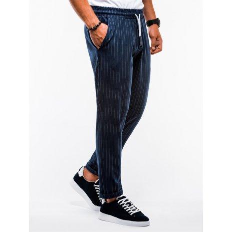 Pánské kalhoty OMBRE AP852 NAVY