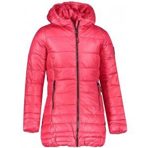 Dívčí zimní kabát SAM 73 GB 524 TMAVĚ RŮŽOVÁ
