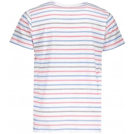 Pánské triko s krátkým rukávem SAM 73 MTSP428 ČERVENÁ