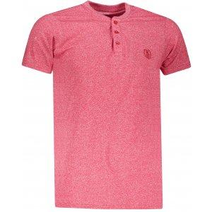 Pánské triko OMBRE AS1047 RED