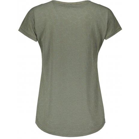Dámské triko ALPINE PRO HARISA 3 LTSR575 ZELENÁ