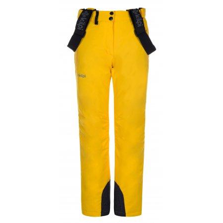 Dívčí zimní kalhoty KILPI ELARE-JG LJ0007KI ŽLUTÁ