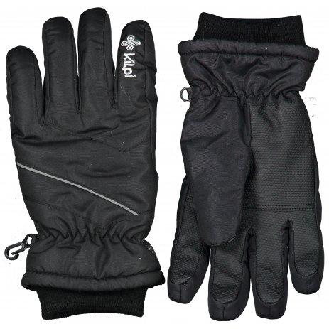 Lyžařské rukavice KILPI TATA-U LU0009KI ČERNÁ