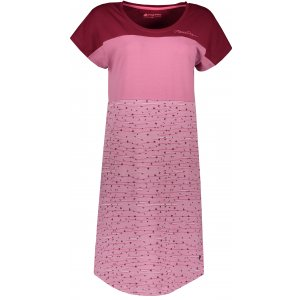 Dámské šaty ALPINE PRO CLEYA LSKR222 RŮŽOVÁ