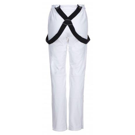 Dámské zimní softshellové kalhoty KILPI DIONE-W LL0029KI BÍLÁ