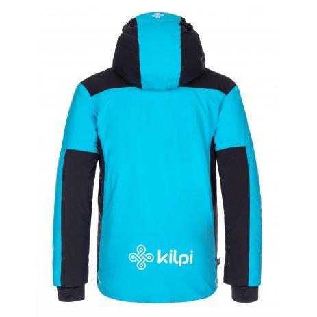 Dětská zimní bunda KILPI TEAM JACKET-J LJ0076KI ČERNÁ
