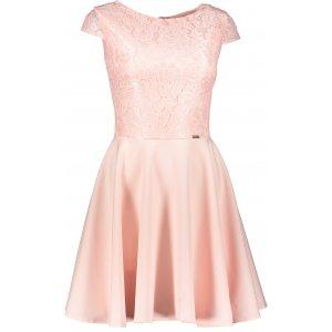 Dámské šaty NUMOCO A157-7 SVĚTLE ORANŽOVÁ