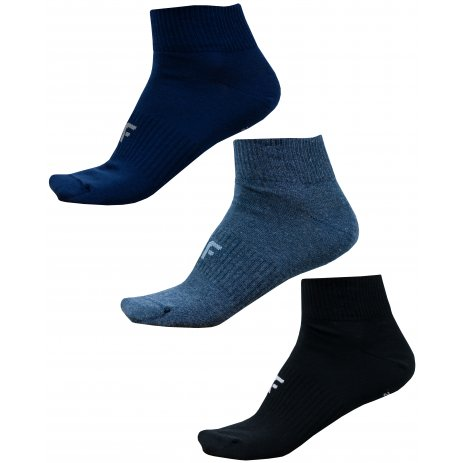 Pánské ponožky NOSD4-SOM302 NAVY MELANGE/NAVY/DEEP BLACK