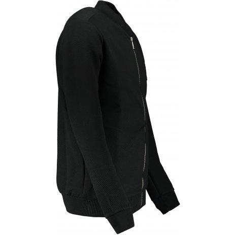 Pánská mikina OMBRE AC374 BLACK