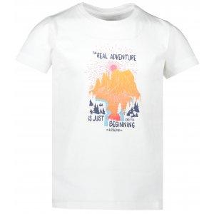Dětské triko ALPINE PRO MATTERO 2 KTSR239 BÍLÁ