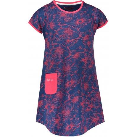 Dívčí šaty ALPINE PRO TERESO KSKR067 TMAVĚ MODRÁ