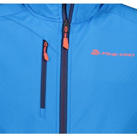 Pánská softshellová vesta ALPINE PRO ASKLEPIOS 7 MVER063 MODRÁ