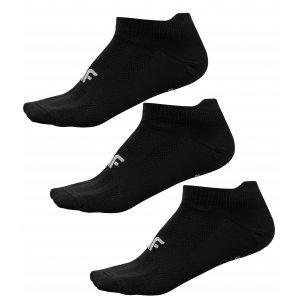 Dámské ponožky 4F NOSD4-SOD213 DEEP BLACK