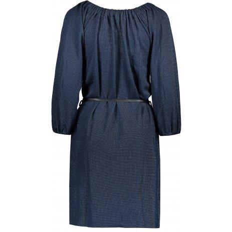 Dámské šaty NUMOCO DINA A270-1 TMAVĚ MODRÁ
