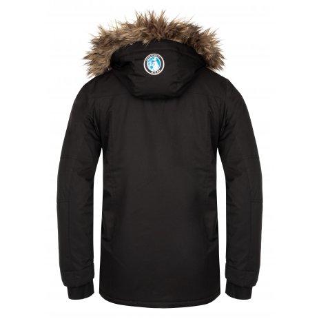 Pánská zimní bunda KILPI ALPHA-M LM0079KI ČERNÁ