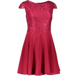 Dámské šaty NUMOCO A157-3 VÍNOVÁ