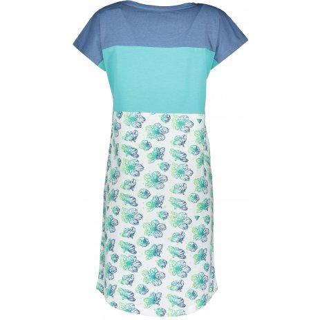 Dámské šaty ALPINE PRO CLEYA LSKR222 SVĚTLE MODRÁ