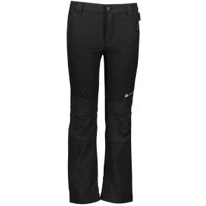 Dětské softshellové kalhoty ALPINE PRO POPO 2 KPAR132 ČERNÁ