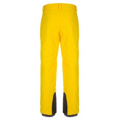 Pánské zimní kalhoty KILPI GABONE-M LM0047KI ŽLUTÁ