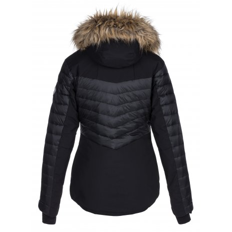 Dámská zimní bunda KILPI BREDA-W LL0020KI ČERNÁ
