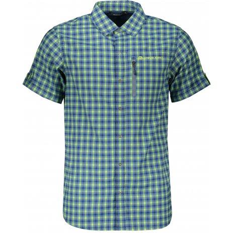 Pánské košile ALPINE PRO LURIN 4 MSHR033 MODRÁ