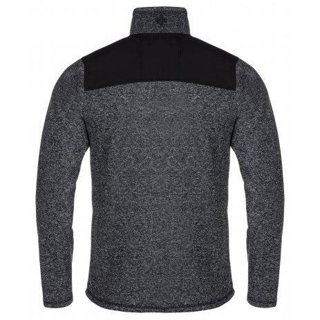 Pánský svetr KILPI REGIN-M LM0046KI TMAVĚ ŠEDÁ