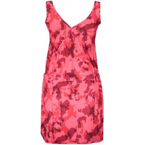 Dámské sportovní šaty ALPINE PRO PATA LSKR185 RŮŽOVÁ