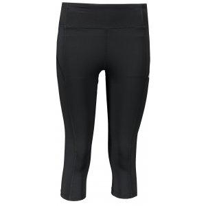 Dámské 3/4 kalhoty 4F NOSD4-SPDF300 DEEP BLACK