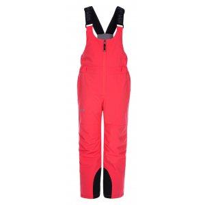 Dětské zimní kalhoty KILPI CHARLIE-J LJ0001KI RŮŽOVÁ