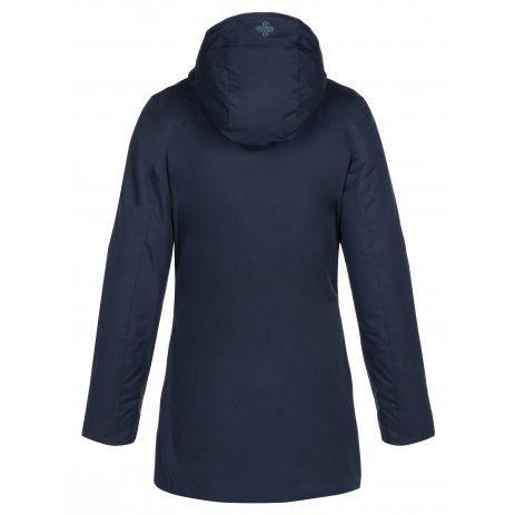 Dámský zimní kabát KILPI BRASIL-W LL0086KI TMAVĚ MODRÁ