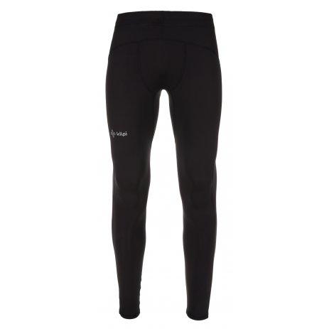 Pánské elastické kalhoty KILPI RUNIA-M LM0064KI ČERNÁ
