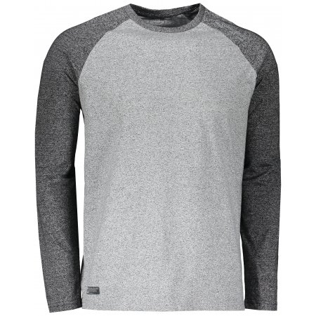 Pánské triko s dlouhým rukávem 4F D4L20-TSML201 MIDDLE GREY