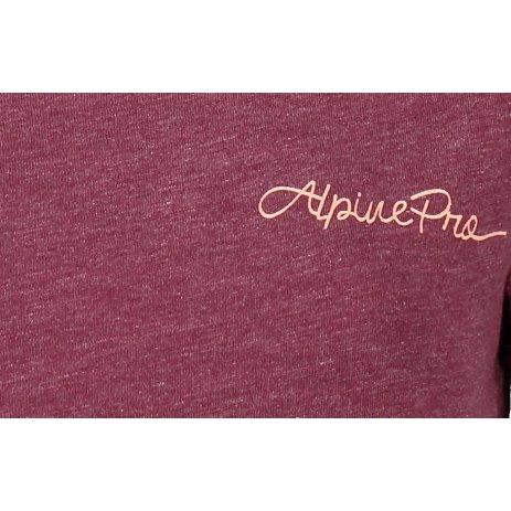 Dámské triko ALPINE PRO DARJA LTSR586 FIALOVÁ