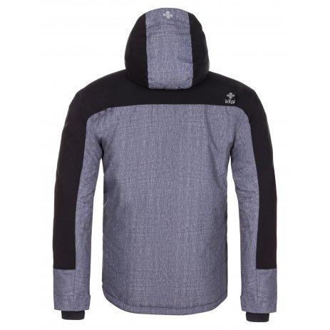 Pánská zimní bunda KILPI TAUREN-M LM0042KI TMAVĚ ŠEDÁ