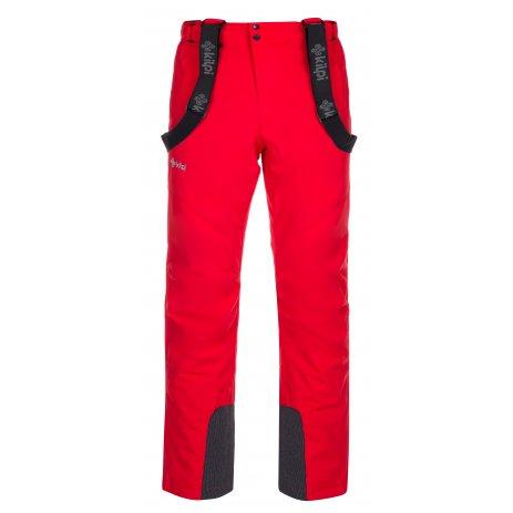Pánské zimní kalhoty KILPI MIMAS-M LM0033KI ČERVENÁ