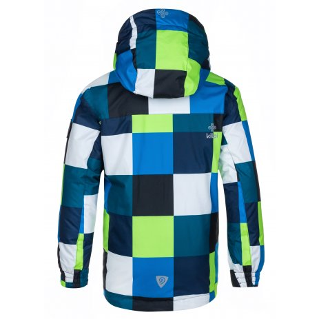 Chlapecká zimní bunda KILPI ATENI-JB LJ0013KI TMAVĚ MODRÁ