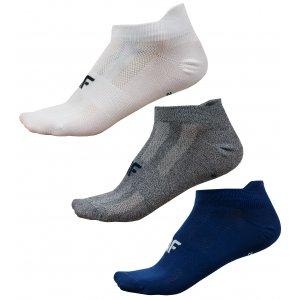 Pánské ponožky NOSD4-SOM213 WHITE/DARK GREY MELANGE/NAVY