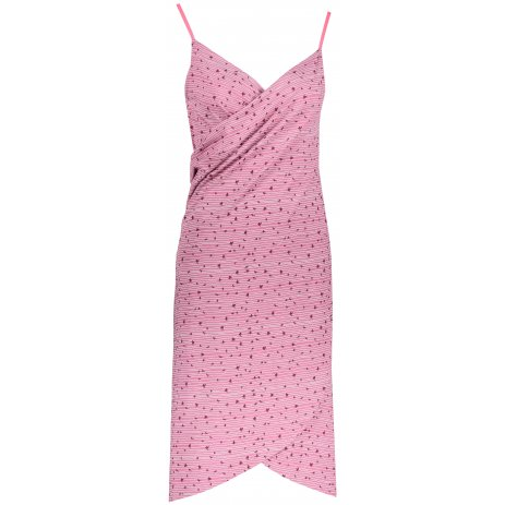 Dámské šaty ALPINE PRO YARA LSKR223 RŮŽOVÁ