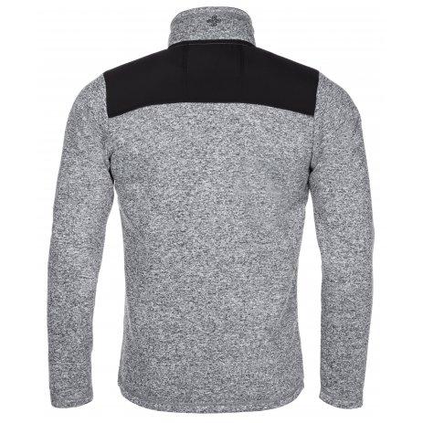 Pánský svetr KILPI REGIN-M LM0046KI SVĚTLE ŠEDÁ