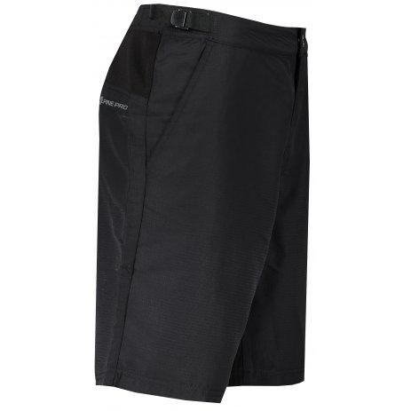 Pánské šortky ALPINE PRO TRENT MPAR328 ČERNÁ