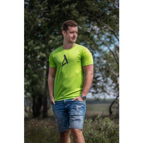 Pánské funkční triko ALTISPORT RIMIL MTSR539 ZELENÁ