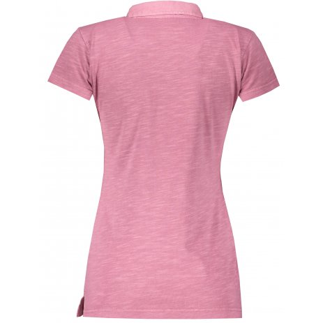 Dámské triko s límečkem ALPINE PRO ERINA LTSR655 RŮŽOVÁ