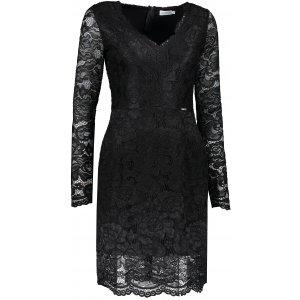 Dámské krajkové šaty NUMOCO A170-1 ČERNÁ
