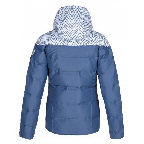 Dámská péřová bunda KILPI BUFFY-W LL0021KI MODRÁ