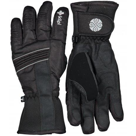 Lyžařské rukavice KILPI GRANT-U LU0010KI ČERNÁ